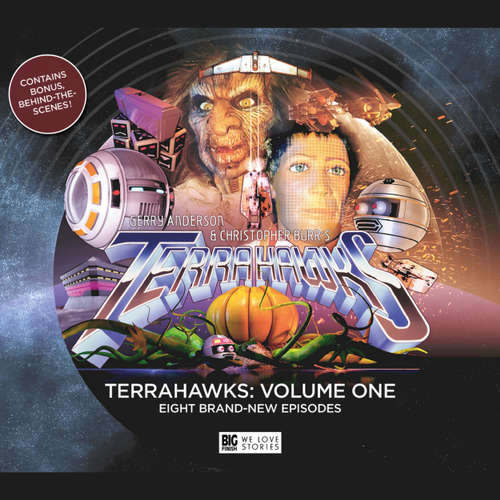 Audiobook Terrahawks, Volume 1 - Jamie Anderson - Jeremy Hitchen