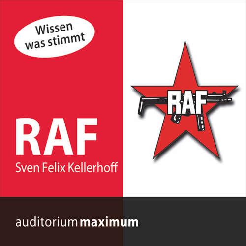 Hoerbuch RAF - Sven Felix Kellerhoff - Manfred Fenner