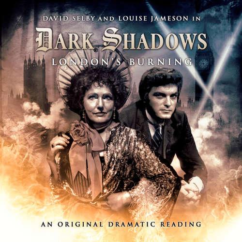Audiobook Dark Shadows, 13: London's Burning - Joseph Lidster - David Selby