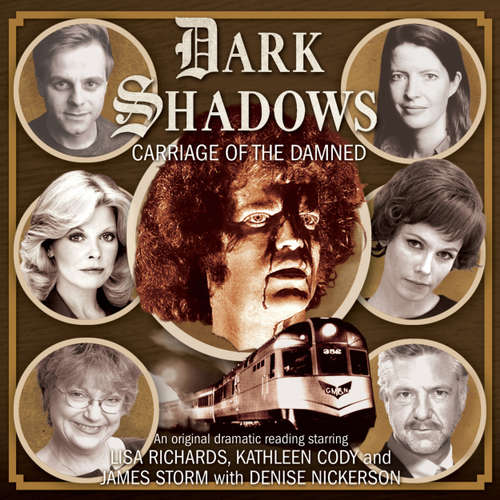 Audiobook Dark Shadows, 42: Carriage of the Damned - Alan Flanagan - Lisa Richards