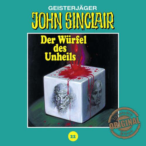 Hoerbuch John Sinclair, Tonstudio Braun, Folge 22: Der Würfel des Unheils - Jason Dark -  Diverse