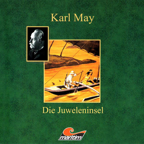 Hoerbuch Karl May, Die Juweleninsel - Karl May - Eberhard Krug