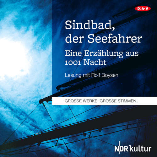 Hoerbuch Sindbad, der Seefahrer - Eine Erzählung aus 1001 Nacht (Lesung) -  O.V. - Rolf Boysen