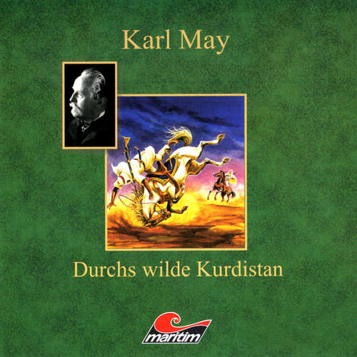 Hoerbuch Karl May, Durchs wilde Kurdistan - Karl May - Eberhard Krug