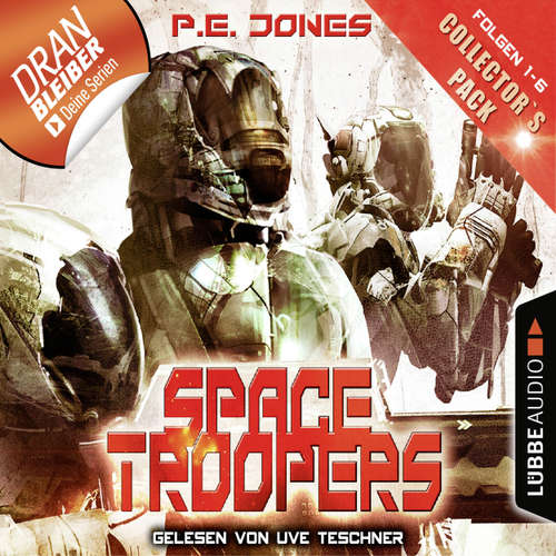 Hoerbuch Space Troopers - Collector's Pack - Folgen 1-6 - P. E. Jones - Uve Teschner