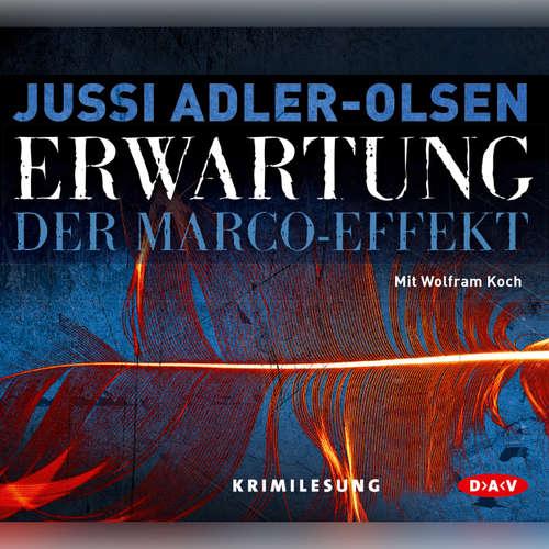 Hoerbuch Erwartung - Jussi Adler-Olsen - Wolfram Koch