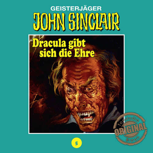 Hoerbuch John Sinclair, Tonstudio Braun, Folge 5: Dracula gibt sich die Ehre. Teil 2 von 3 - Jason Dark -  Diverse