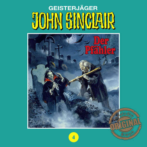 Hoerbuch John Sinclair, Tonstudio Braun, Folge 4: Der Pfähler. Teil 1 von 3 - Jason Dark -  Diverse