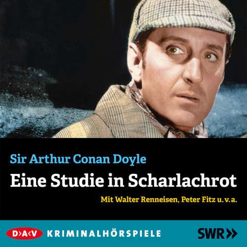 Hoerbuch Eine Studie in Scharlachrot - Arthur Conan Doyle - Walter Renneisen