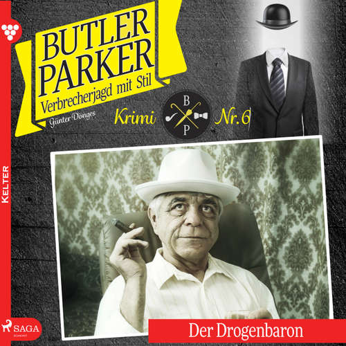 Hoerbuch Der Drogenbaron - Butler Parker 6 - Günter Dönges - Thorsten Breitfeldt