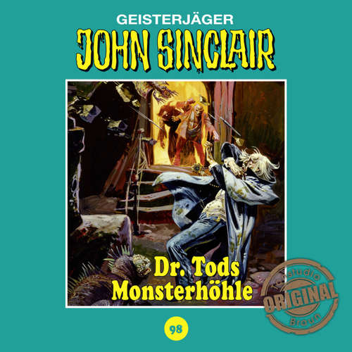 John Sinclair, Tonstudio Braun, Folge 98: Dr. Tods Monsterhöhle