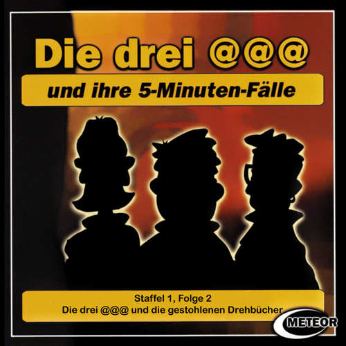 Hoerbuch Die drei @@@ (Die drei Klammeraffen), Staffel 1, Folge 2: Die drei @@@ und die gestohlenen Drehbücher - Nikolaus Hartmann - Britta Lemon