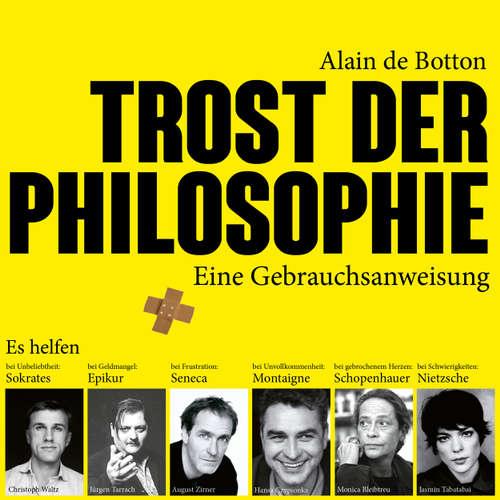 Hoerbuch Trost der Philosophie - Alain de Botton - Jürgen Tarrach