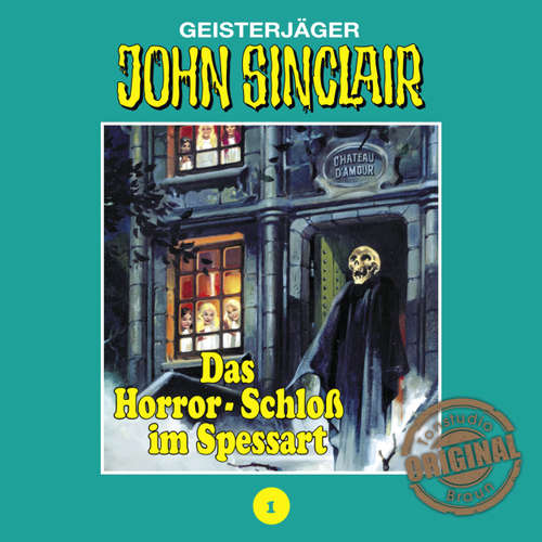 Hoerbuch John Sinclair, Tonstudio Braun, Folge 1: Das Horror-Schloß im Spessart - Jason Dark -  Diverse