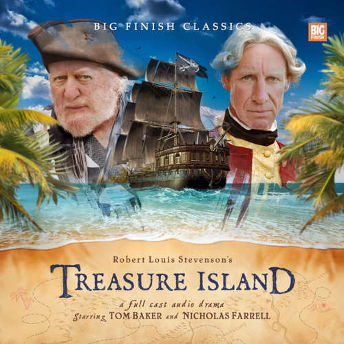 Audiobook Treasure Island - Robert Louis Stevenson - Tom Baker