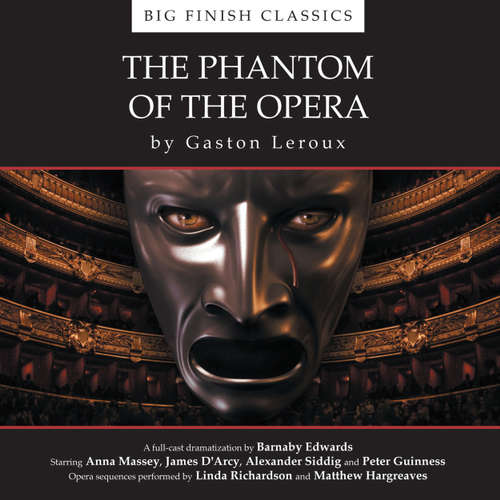 Audiobook The Phantom of the Opera - Gaston Leroux - Anna Massey