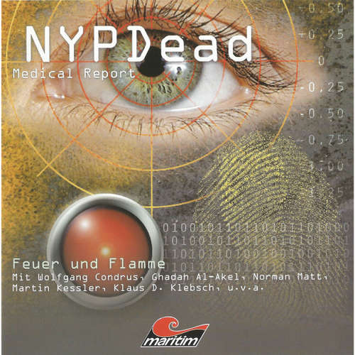 NYPDead - Medical Report, Folge 1: Feuer und Flamme