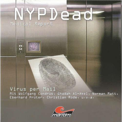 Hoerbuch NYPDead - Medical Report, Folge 4: Virus per Mail - Andreas Masuth - Wolfgang Condrus
