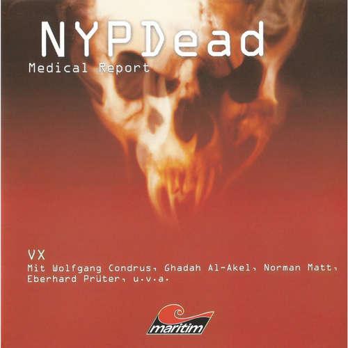 Hoerbuch NYPDead - Medical Report, Folge 5: VX - Andreas Masuth - Wolfgang Condrus