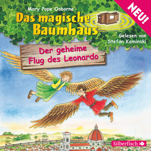 Das magische Baumhaus, Folge 36: Der geheime Flug des Leonardo