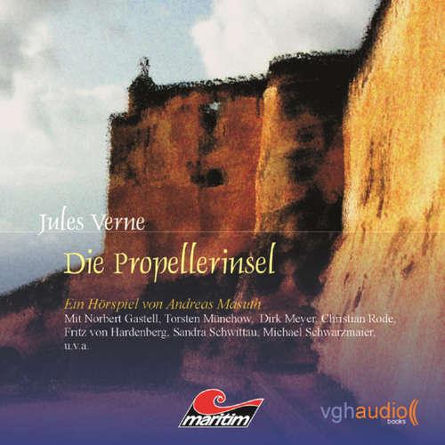 Hoerbuch Jules Verne, Folge 2: Die Propellerinsel - Andreas Masuth - Norbert Gastell