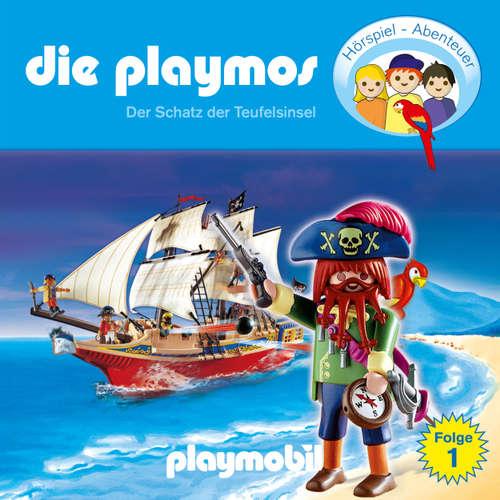 Hoerbuch Die Playmos - Das Original Playmobil Hörspiel, Folge 1: Der Schatz der Teufelsinsel - Simon X. Rost - Gerrit Schmidt-Foß