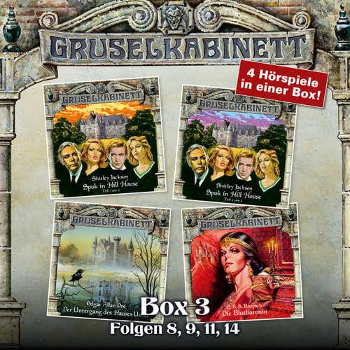 Hoerbuch Gruselkabinett, Box 3: Folgen 8, 9, 11, 14 - Shirley Jackson - Evelyn Maron