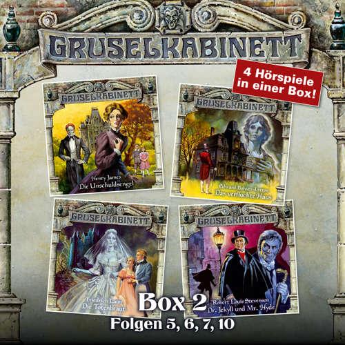 Hoerbuch Gruselkabinett, Box 2: Folgen 5, 6, 7, 10 - Henry James - Rita Engelmann