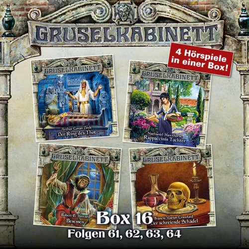 Hoerbuch Gruselkabinett, Box 16: Folgen 61, 62, 63, 64 - Arthur Conan Doyle - Tommi Piper