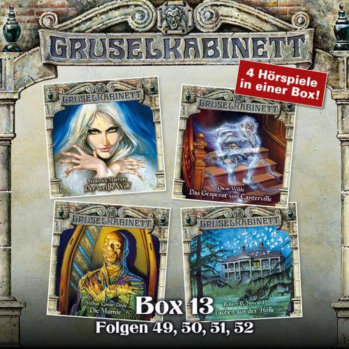 Hoerbuch Gruselkabinett, Box 13: Folgen 49, 50, 51, 52 - Frederick Marryat - Petra Barthel