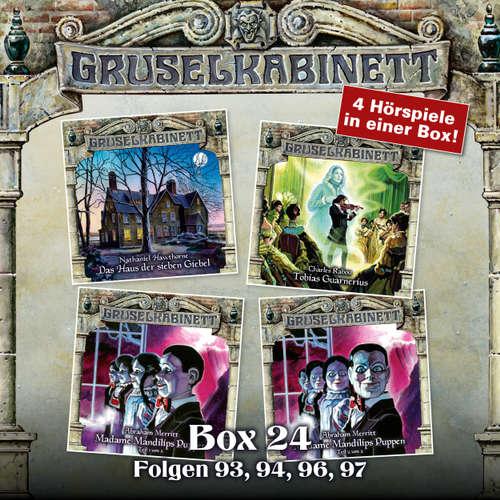 Hoerbuch Gruselkabinett, Box 24: Folgen 93, 94, 96, 97 - Nathaniel Hawthorne - Dagmar von Kurmin