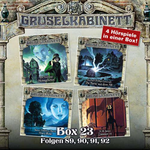 Hoerbuch Gruselkabinett, Box 23: Folgen 89, 90, 91, 92 - Per McGraup - Reinhilt Schneider