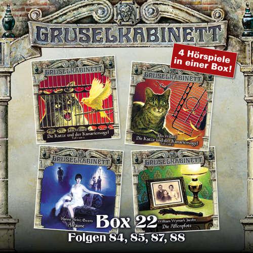 Hoerbuch Gruselkabinett, Box 22: Folgen 84, 85, 87, 88 - John Willard - Nana Spier