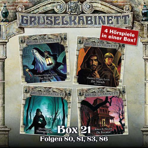 Hoerbuch Gruselkabinett, Box 21: Folgen 80, 81, 83, 86 - M.G. Lewis - David Nathan