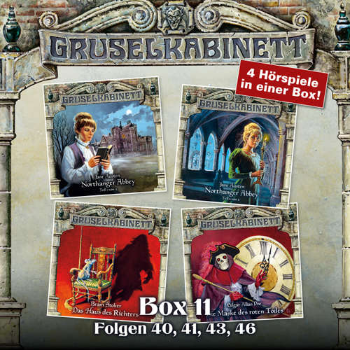 Hoerbuch Gruselkabinett, Box 11: Folgen 40, 41, 43, 46 - Jane Austen - Marie-Luise Schramm