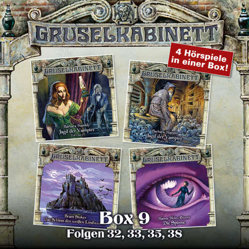 Hoerbuch Gruselkabinett, Box 9: Folgen 32, 33, 35, 38 - Barbara Hambly - Wolfgang Pampel