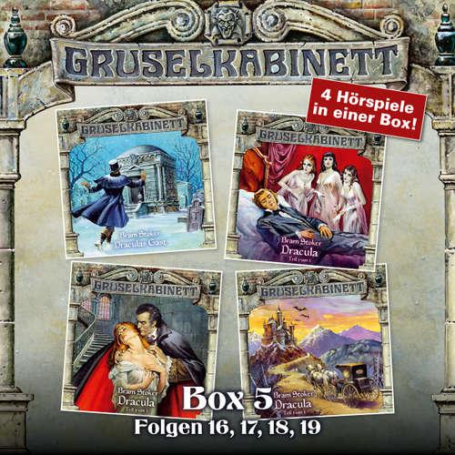Hoerbuch Gruselkabinett, Box 5: Folgen 16, 17, 18, 19 - Bram Stoker - Simon Jäger