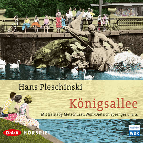 Hoerbuch Königsallee - Hans Pleschinski - Barnaby Metschurat