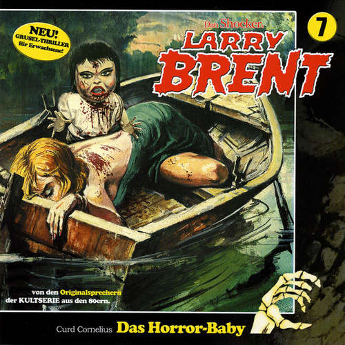Hoerbuch Larry Brent, Folge 7: Das Horror-Baby - Markus Winter - Wolfgang Rüter
