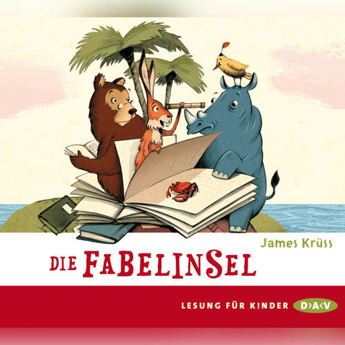 Hoerbuch Die Fabelinsel - James Krüss - Friedhelm Ptok