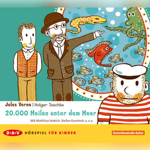 Hoerbuch 20,000 Meilen unter dem Meer - Jules Verne - Matthias Habich