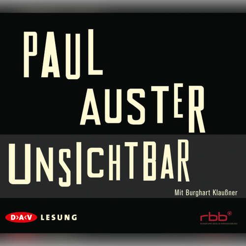 Hoerbuch Unsichtbar - Paul Auster - Burghart Klaußner