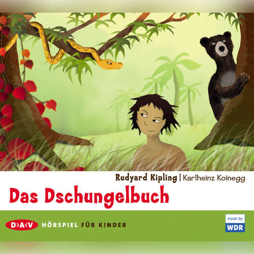 Hoerbuch Das Dschungelbuch - Rudyard Kipling - Traugott Buhre