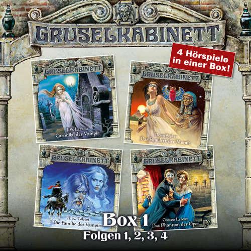 Hoerbuch Gruselkabinett, Box 1: Folgen 1, 2, 3, 4 - J. S. LeFanu - Daniela Hoffmann