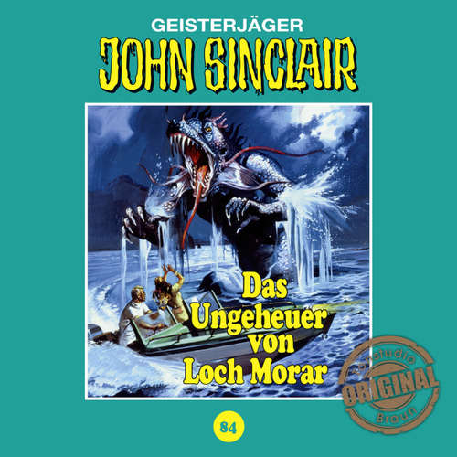 Hoerbuch John Sinclair, Tonstudio Braun, Folge 84: Das Ungeheuer von Loch Morar. Teil 1 von 2 - Jason Dark -  Diverse