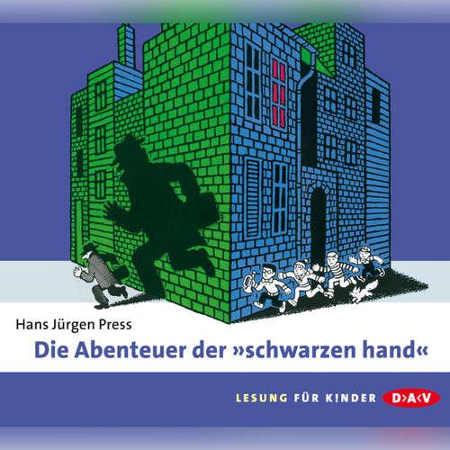 """Hoerbuch Die Abenteuer der """"Schwarzen Hand"""" - Hans Jürgen Press - Günter Merlau"""
