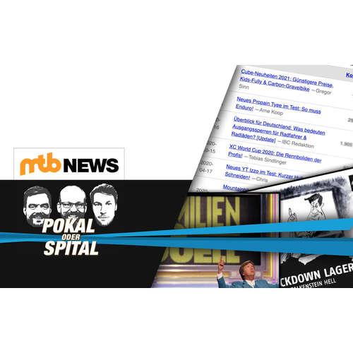 Der Mountainbike-Podcast von MTB-News.de: Familienduell im Lockdown
