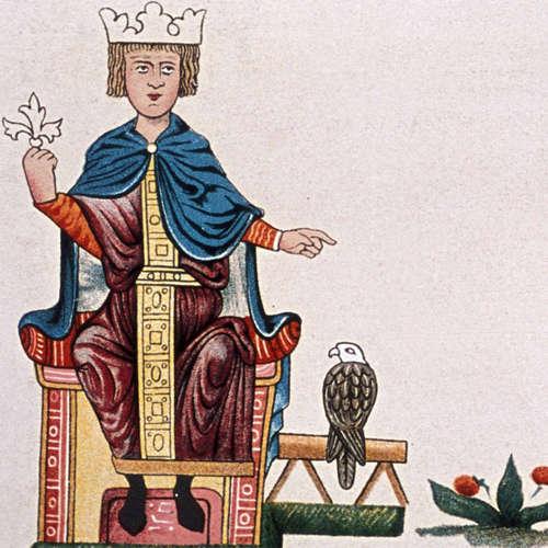 Die Kaiserkrönung von Friedrich II. (am 22.11.1220)