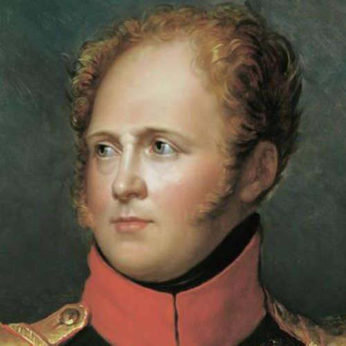 Alexander I., russ. Zar (Todestag 1.12.1825)