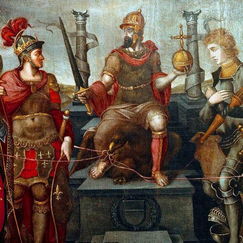 Kaiser Karl V. (Todestag 21.09.1558)